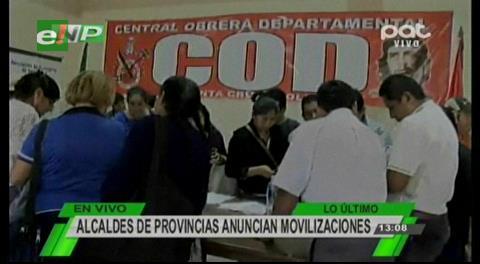 Amdecruz anuncia movilizaciones en protesta por recorte de regalías
