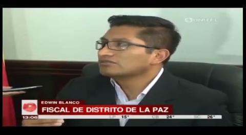 """Fiscal califica a fallos en imputación de León como """"errores de impresión"""""""