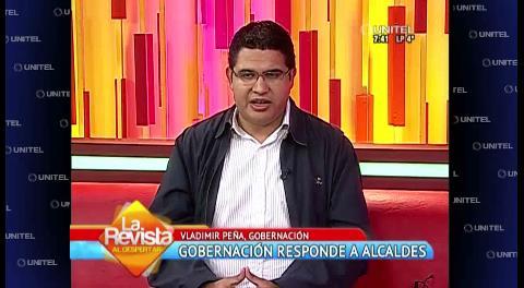 """Vladimir Peña: """"La Gobernación no tiene deudas con los municipios"""""""