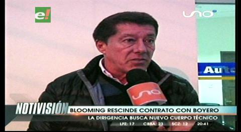 Blooming rescinde contrato con Boyero, Llop y Soria en la mira