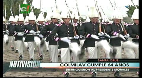 El Colegio Militar de Aviacion festejó sus 64 años