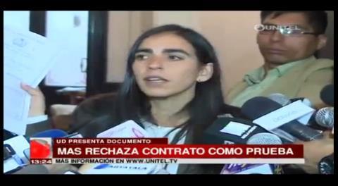 Tráfico de influencias: MAS rechaza contrato de anticrético como prueba contra Morales