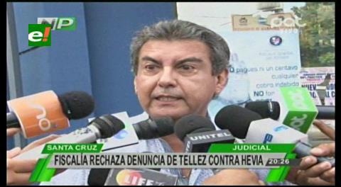 Fiscalía rechaza denuncia en contra de Hevia