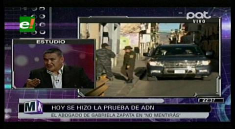 """Abogado León: """"La prueba de ADN fue un show que no tiene valor legal"""""""