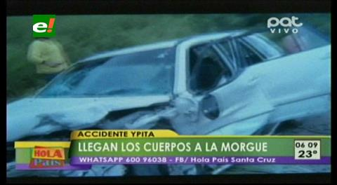 """Vehículos chocaron de frente: Accidente con muerto en """"La curva de los huesos"""""""