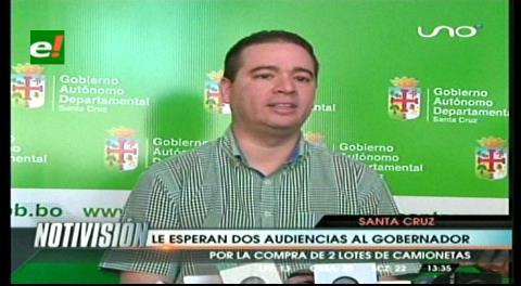 Reactivan procesos políticos contra Rubén Costas