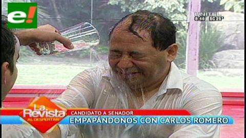 !Qué mojazón señor Romero!