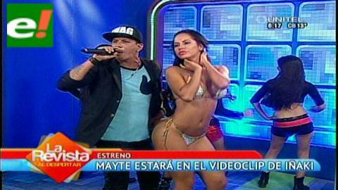 Una sexy Maité Flores en el nuevo videoclip de Iñaki
