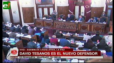David Tezanos Pinto es el nuevo designado a Defensor del Pueblo