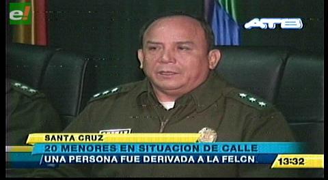 Cnel. Sabino Guzmán informó sobre operativo contra indigentes