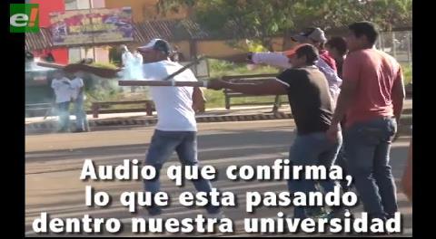 Fuertes enfrentamientos en la Universidad Amazónica de Pando