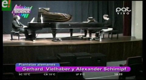 """""""Dos Pianos, Cuatro Manos"""" un concierto inédito en la Casa de la Cultura"""