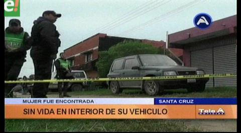 Encuentran el cadáver de una mujer en su vehículo