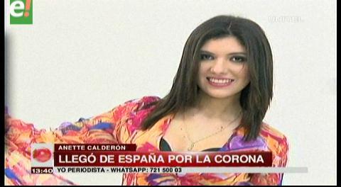 Conoce a Stefany Calderón, Miss Residente Bolivia 2016