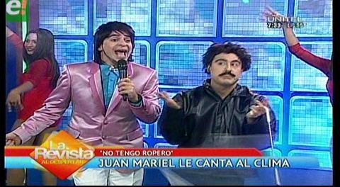 """""""No tengo ropero"""" el nuevo hit de Juan Mariel"""