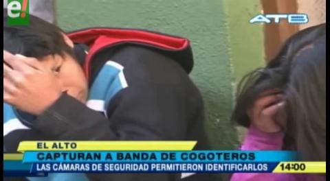 Capturan a banda de cogoteros que intentaba estrangular a una joven en El Alto