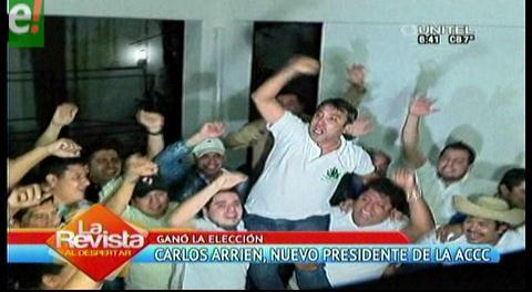 Carlos Arrien elegido presidente de la ACCC