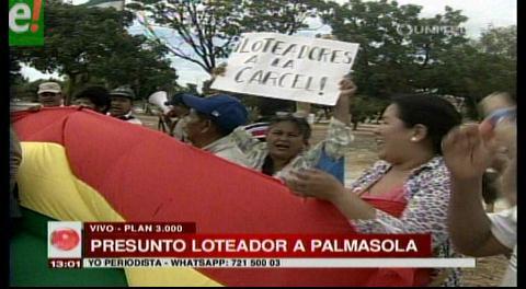 Vecinos exigen cárcel para presuntos loteadores