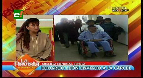 Esposa de León anuncia que su familia se irá a vivir a San Pedro