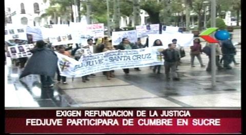Cumbre judicial: Fejuve plantea la refundación de la justicia