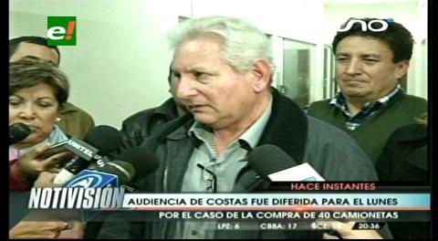 Rubén Costas afirma que no se irá nunca del país y que seguirá luchando por la autonomía