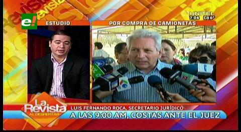 """Gobernación ve que arraigo y fianza de Costas son """"una aberración"""""""