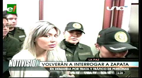 Interrogarán a Gabriela Zapata por el caso de trata y tráfico de menores