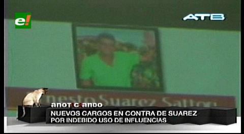 Gobernación de Beni procesará a Ernesto Suárez por dos delitos