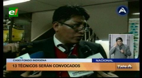 Fondioc: Convocarán a declarar a 13 técnicos