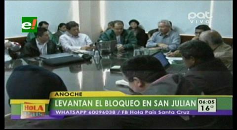 Gobernación cruceña y municipio de San Juan firman un acuerdo