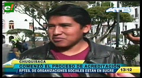 Sucre: Foros y acreditaciones preceden a la Cumbre Nacional de Justicia