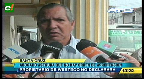Caso dron: Desmienten orden de aprehensión contra el gerente de Westeco