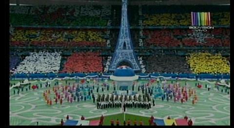 Ceremonia inaugural de la Eurocopa 2016
