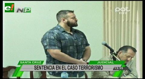 Caso terrorismo: Sentencian a Gelafio Santiesteban a 6 años de cárcel