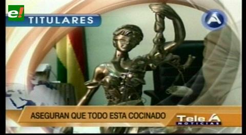 """Titulares de TV: Colegio Nacional de Abogados se retiró de la Cumbre de Justicia, aseguran que """"todo está cocinado"""""""
