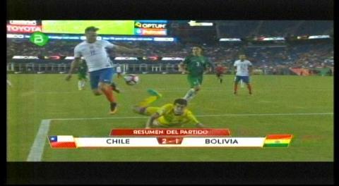 Derrota por 2-1 frente a Chile deja fuera a Bolivia de la Copa América 2016