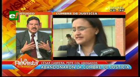 """Abogados y la Cumbre de Justicia: """"La cadena perpetua es un retroceso"""""""