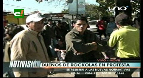 Amago de enfrentamiento entre gendarmes y dueños de locales