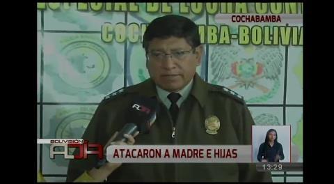 Cochabamba: Falso policía disparó a madre e hijas en su domicilio