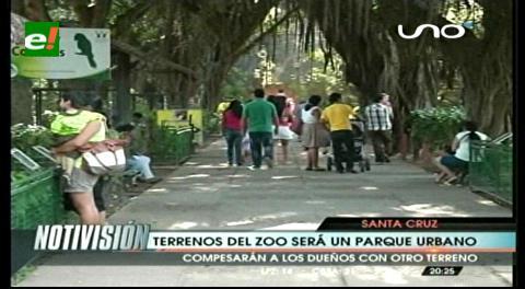 Garantizan que predios del zoológico será parque urbano