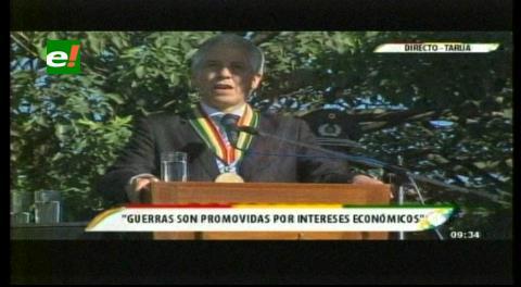 Villa Montes. Vicepresidente realza recordatorio de los 81 años del cese de hostilidades de la Guerra del Chaco