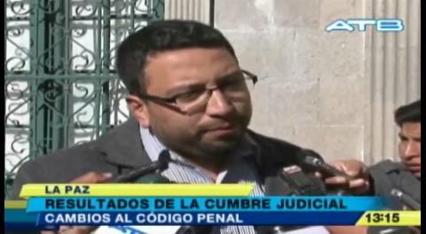 Viceministro de Justicia pide reformar el Código Penal