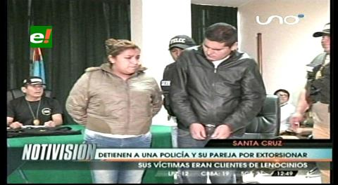 Detienen a una mujer policía y a su esposo por extorsión