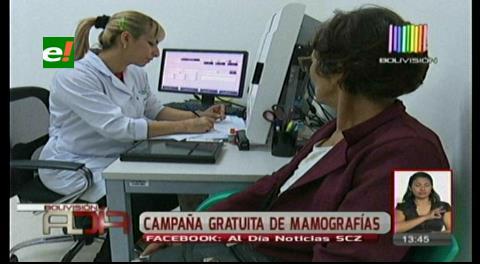 Santa Cruz: Campaña para mamografía gratis en hospitales de segundo nivel