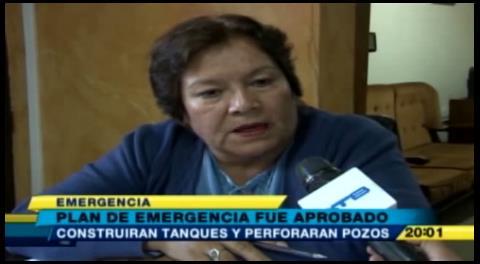 Gobernación de Cochabamba aprobó el plan de emergencia por la sequía