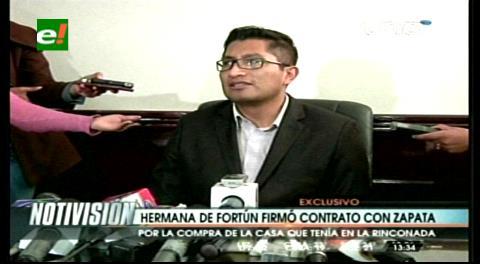 Ana María 'recibía' pagos por la vivienda de Zapata