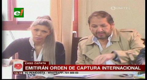 Fiscalía anuncia órdenes de captura internacional contra Perou y abogados de Zapata