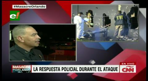 """Subjefe de la Policía de Orlando: """"El atacante amenazaba con que tenía explosivos"""""""