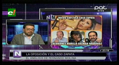 "Fernando Molina: ""No le creo nada a Zapata, miente sistemáticamente"""