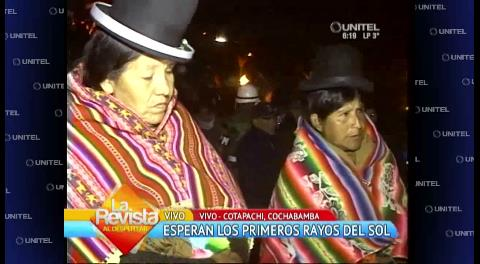 Celebraron el año nuevo Andino-Amazónico en diferentes zonas del país